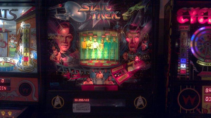 Star Trek (1991 pinball) 32,390,410 points