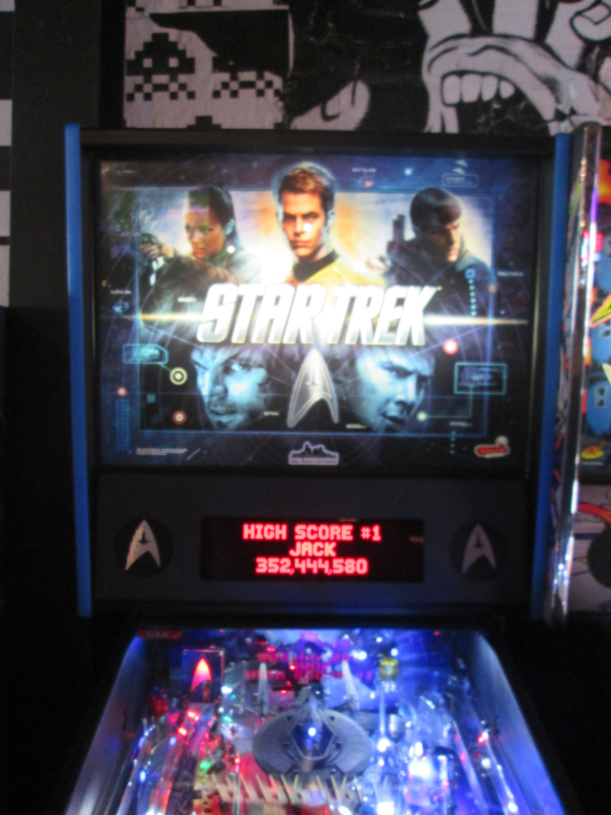 ed1475: Star Trek (2013 pinball) (Pinball: 3 Balls) 53,093,940 points on 2016-08-28 16:39:57