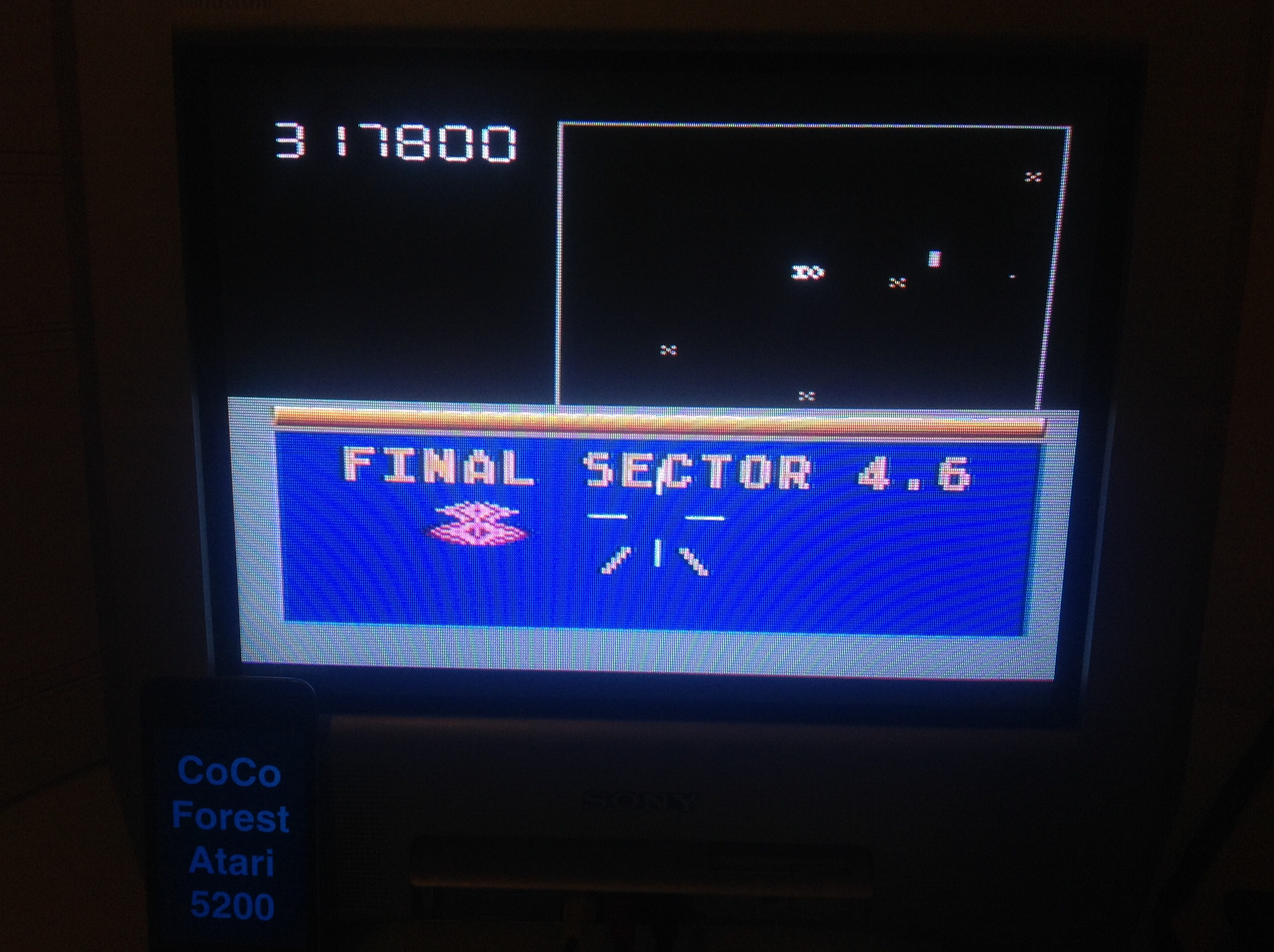 CoCoForest: Star Trek (Atari 5200) 317,800 points on 2015-11-19 11:26:46