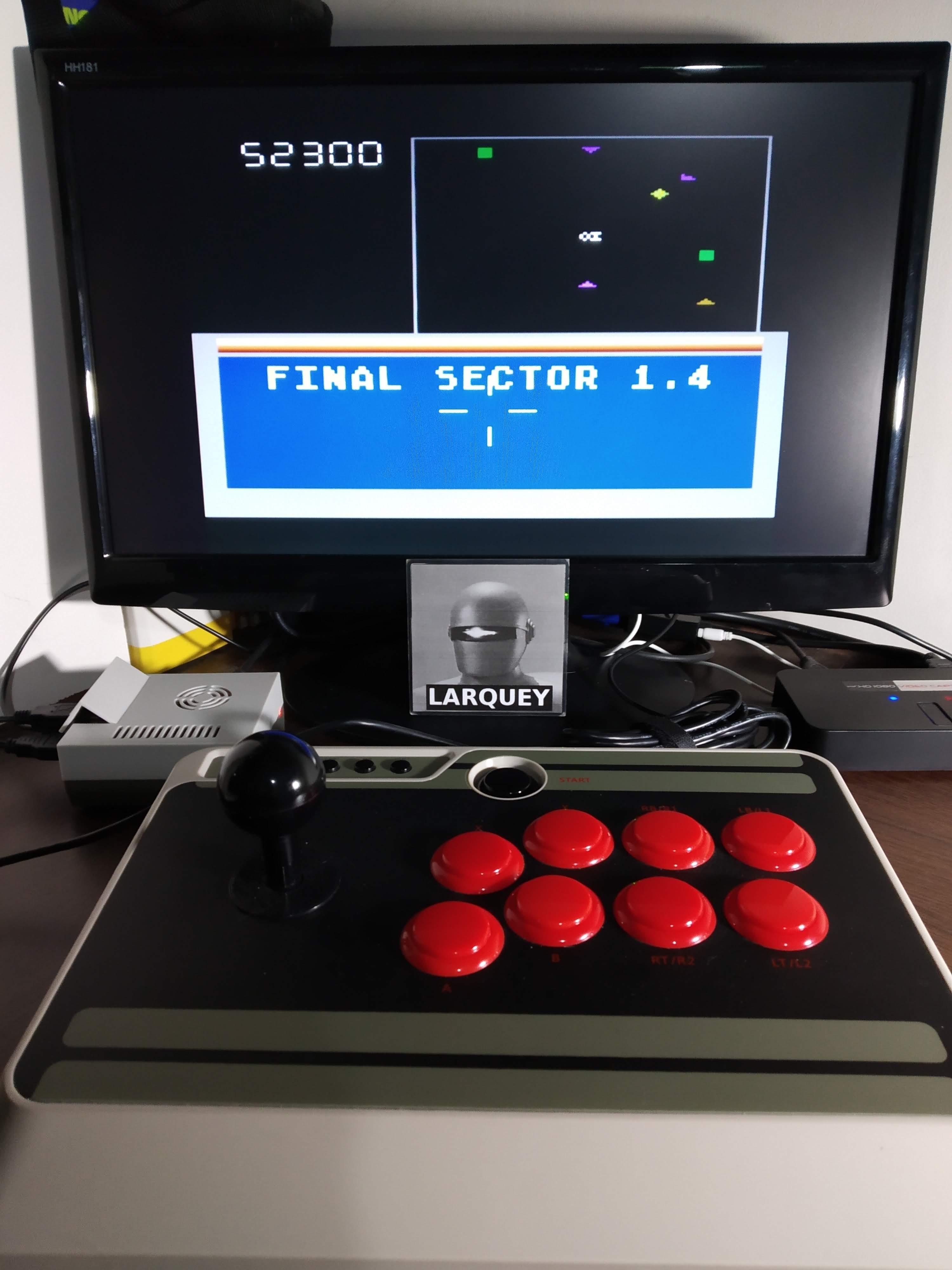 Larquey: Star Trek (Atari 5200 Emulated) 52,300 points on 2019-11-12 00:44:21