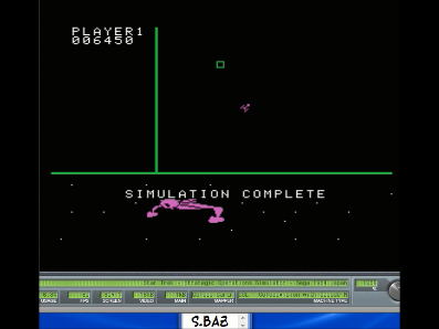 S.BAZ: Star Trek: Strategic Operations Simulator: Skill 2 (Colecovision Emulated) 6,450 points on 2017-07-08 17:31:19