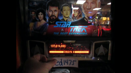 ed1475: Star Trek: The Next Generation (Pinball: 3 Balls) 137,814,890 points on 2017-02-12 16:01:30
