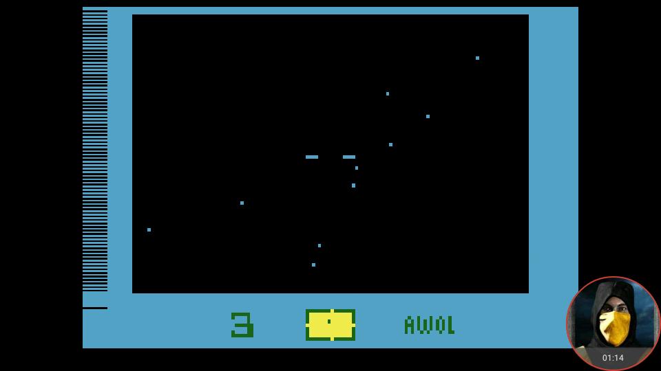 omargeddon: Star Voyager (Atari 2600 Emulated Novice/B Mode) 3 points on 2018-02-23 23:20:22