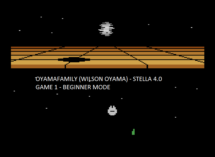 oyamafamily: Star Wars: Death Star Battle (Atari 2600 Emulated Novice/B Mode) 18,969 points on 2015-08-15 20:04:30