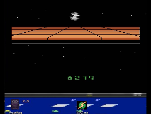 S.BAZ: Star Wars: Death Star Battle (Atari 2600 Emulated Novice/B Mode) 8,279 points on 2020-06-03 14:53:16