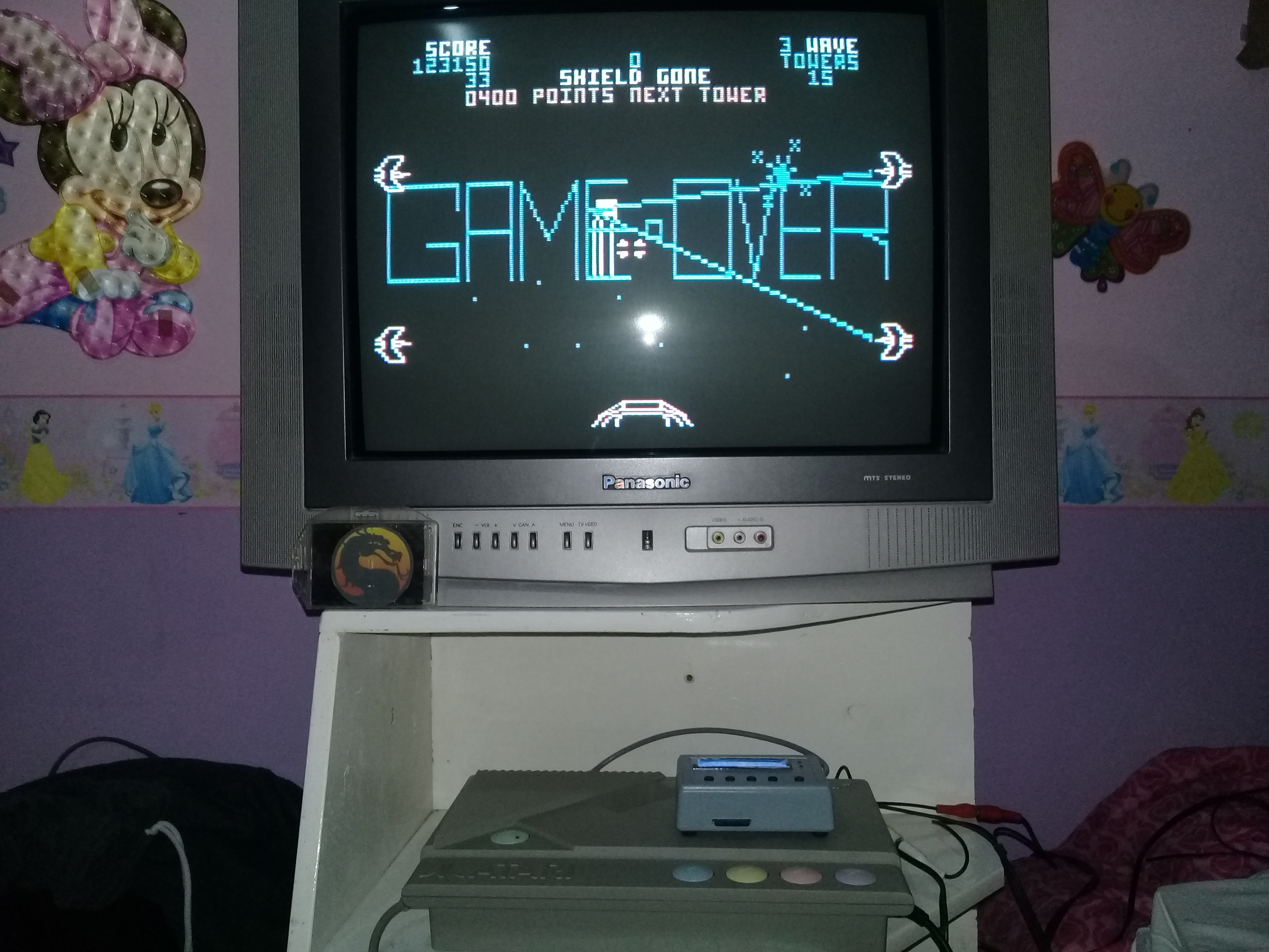 omargeddon: Star Wars: Easy [Domark] (Atari 400/800/XL/XE) 123,150 points on 2020-01-11 13:00:35