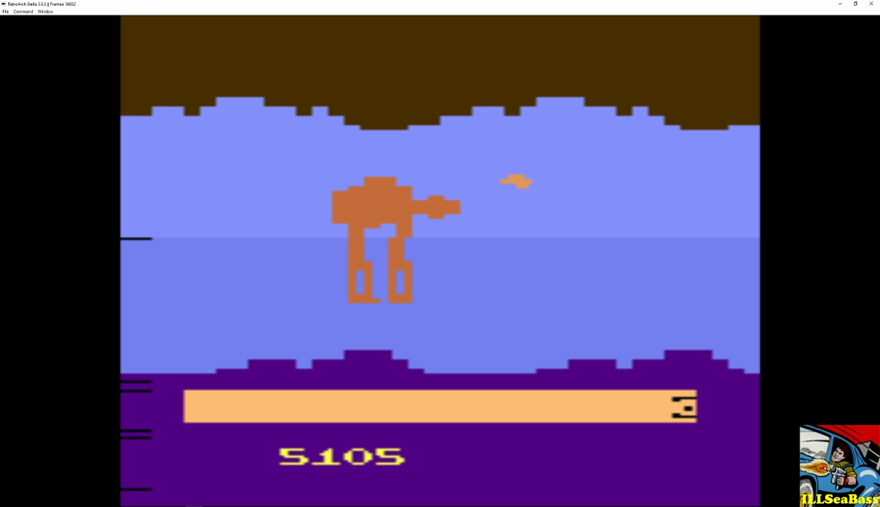 Star Wars: Empire Strikes Back 5,105 points