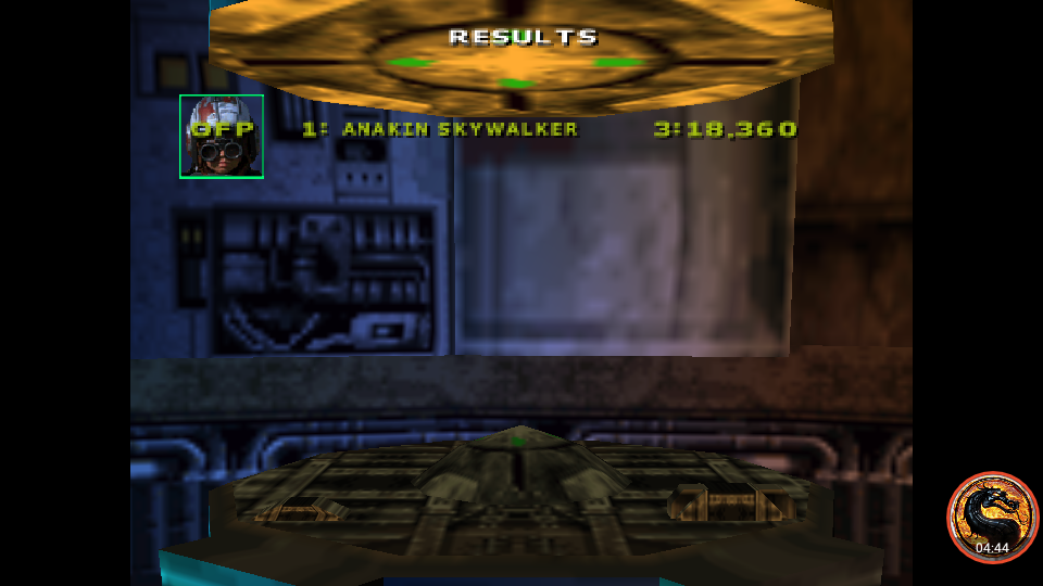Star Wars Episode 1 Racing: Time Attack [The Boonta Training Course] time of 0:03:18.36