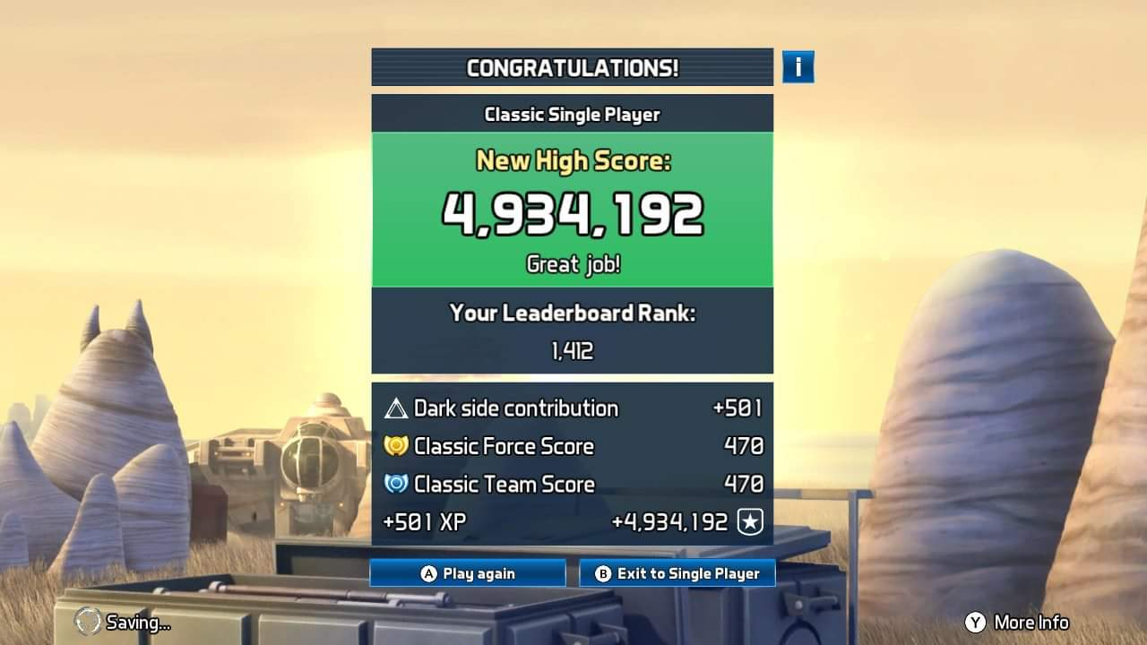 JML101582: Star Wars Pinball: Rebels [3 Balls] (Nintendo Switch) 4,934,192 points on 2020-12-25 17:10:51