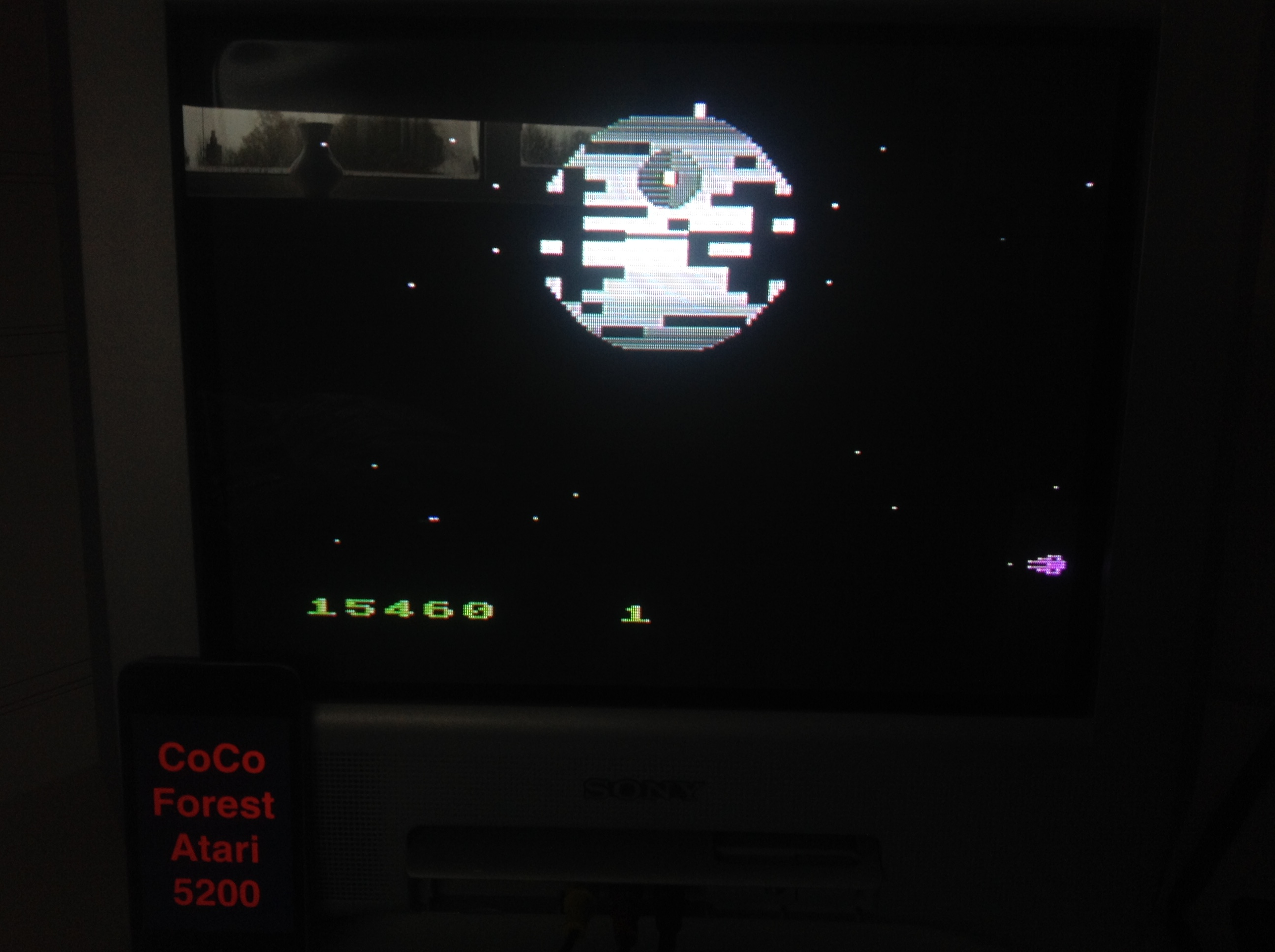 CoCoForest: Star Wars: Return of the Jedi: Death Star Battle (Atari 5200) 15,460 points on 2015-11-19 04:50:55