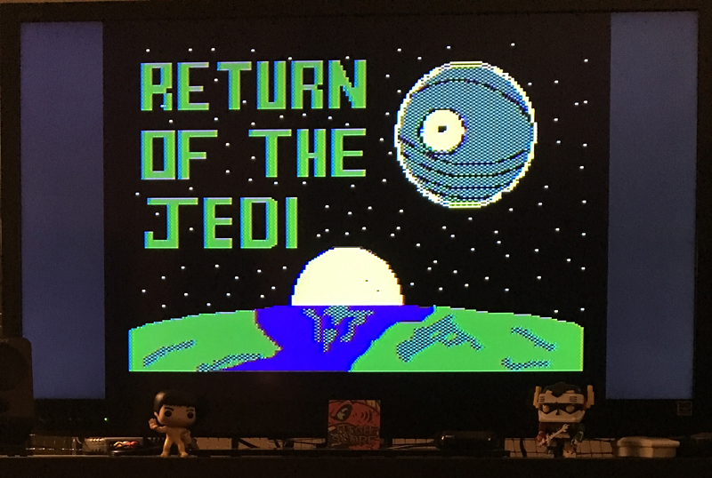 ILLSeaBass: Star Wars - Return of the Jedi - Death Star Battle [Parker Brothers] (Atari 400/800/XL/XE) 6,089 points on 2017-06-04 00:31:21
