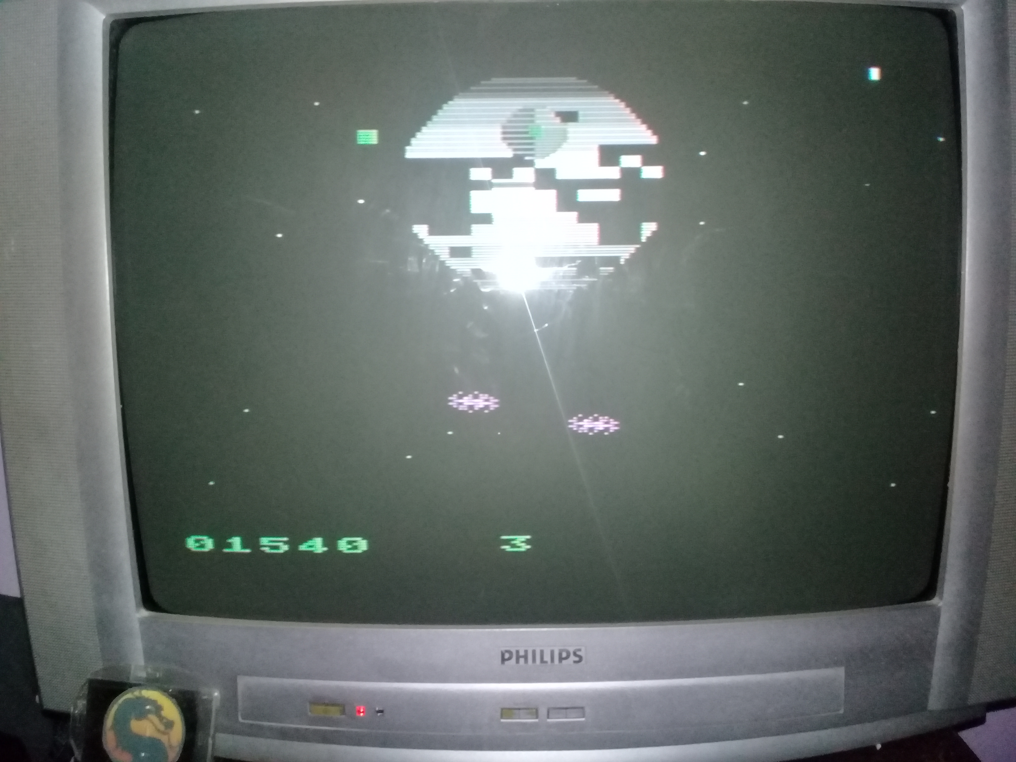 omargeddon: Star Wars - Return of the Jedi - Death Star Battle [Parker Brothers] [Game 3] (Atari 400/800/XL/XE) 1,540 points on 2020-03-13 19:33:50