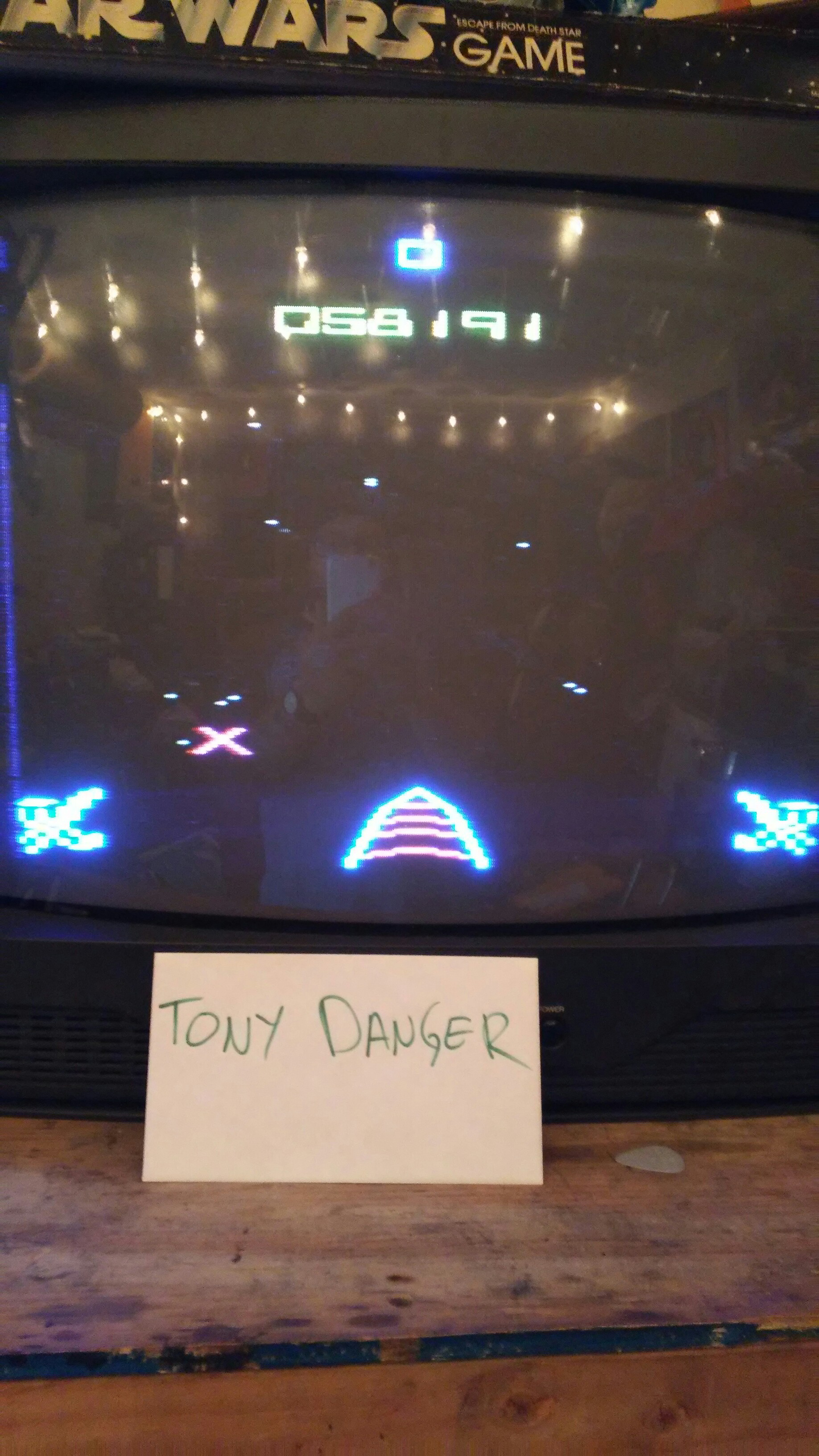 Star Wars: The Arcade Game 58,191 points