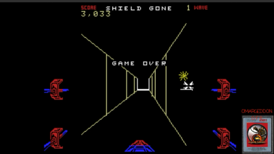 Star Wars: The Arcade Game: Easy 3,033 points