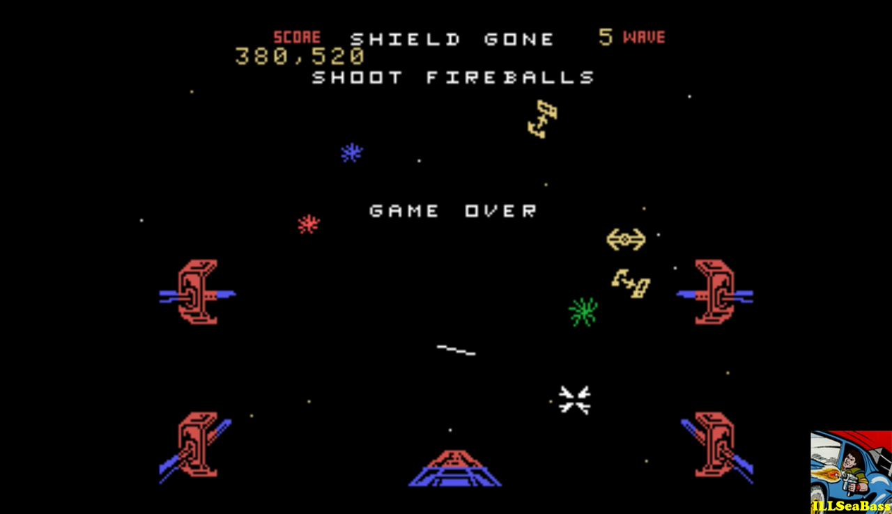 ILLSeaBass: Star Wars: The Arcade Game: Hard (Colecovision Emulated) 380,520 points on 2017-01-01 18:38:28