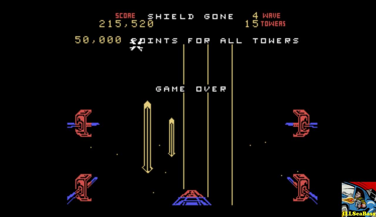 Star Wars: The Arcade Game: Medium 215,520 points