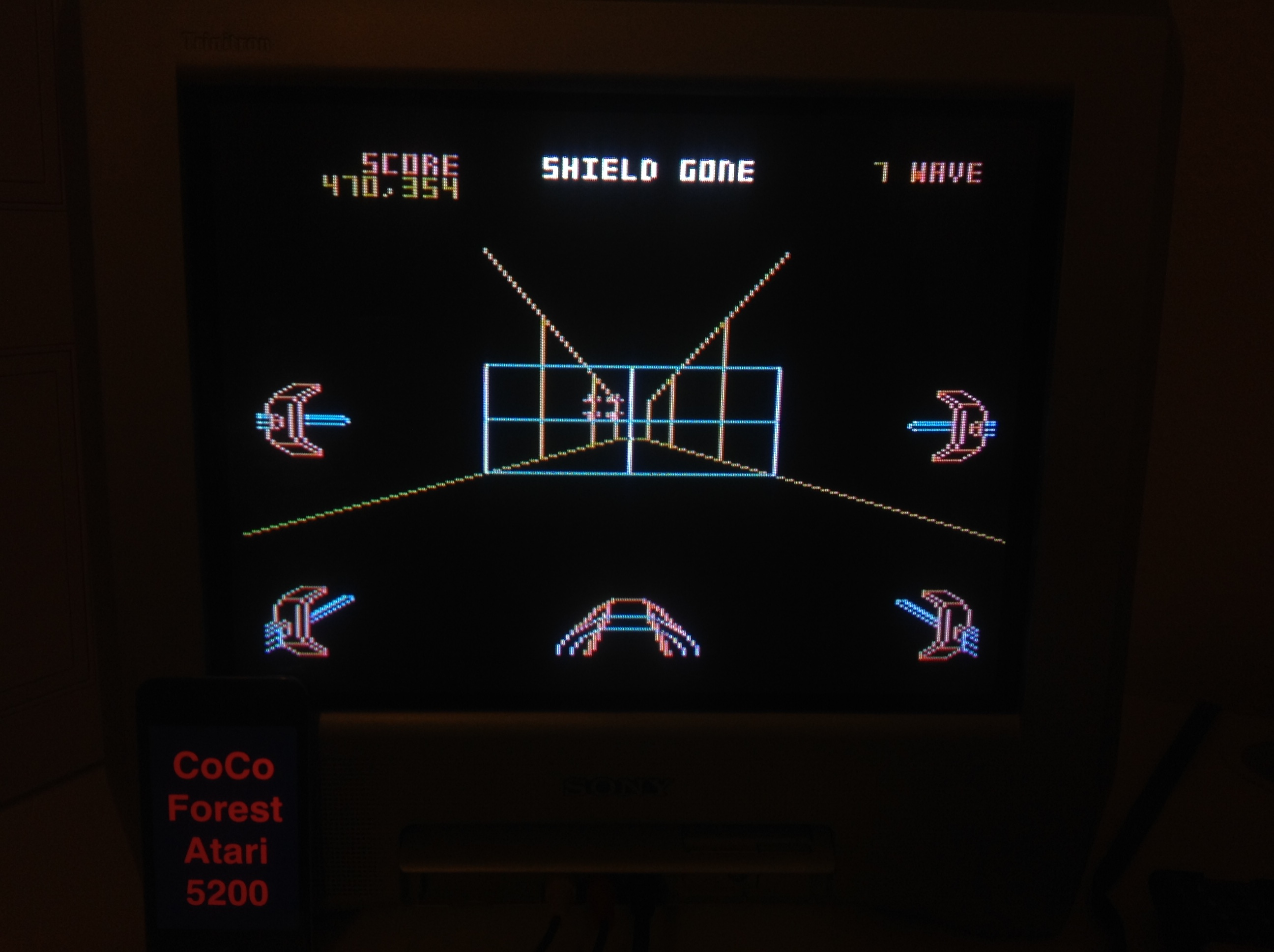 CoCoForest: Star Wars: The Arcade Game [Skill 1] (Atari 5200) 470,354 points on 2015-11-18 11:17:19