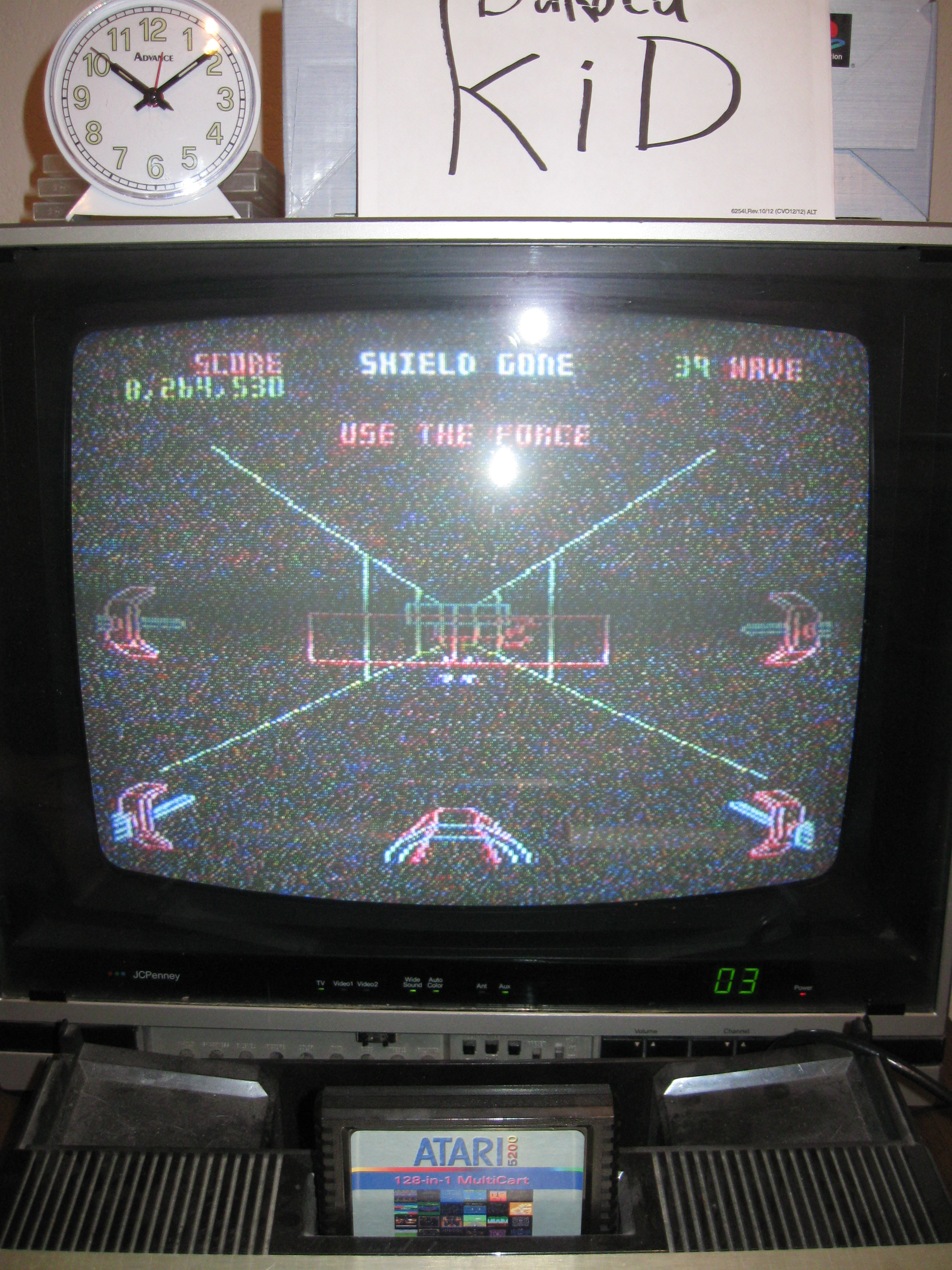 DakotaKid: Star Wars: The Arcade Game [Skill 1] (Atari 5200) 8,264,530 points on 2016-04-18 12:41:14