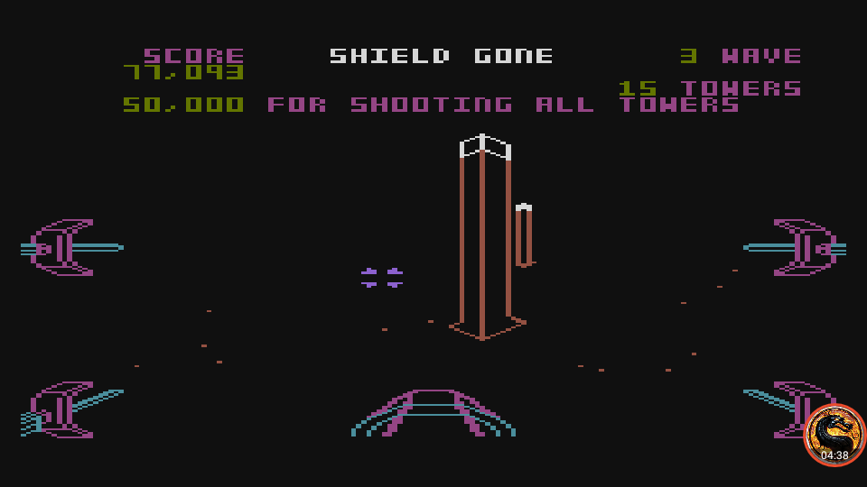 omargeddon: Star Wars: The Arcade Game [Skill 1] (Atari 5200 Emulated) 77,093 points on 2019-09-10 16:32:03