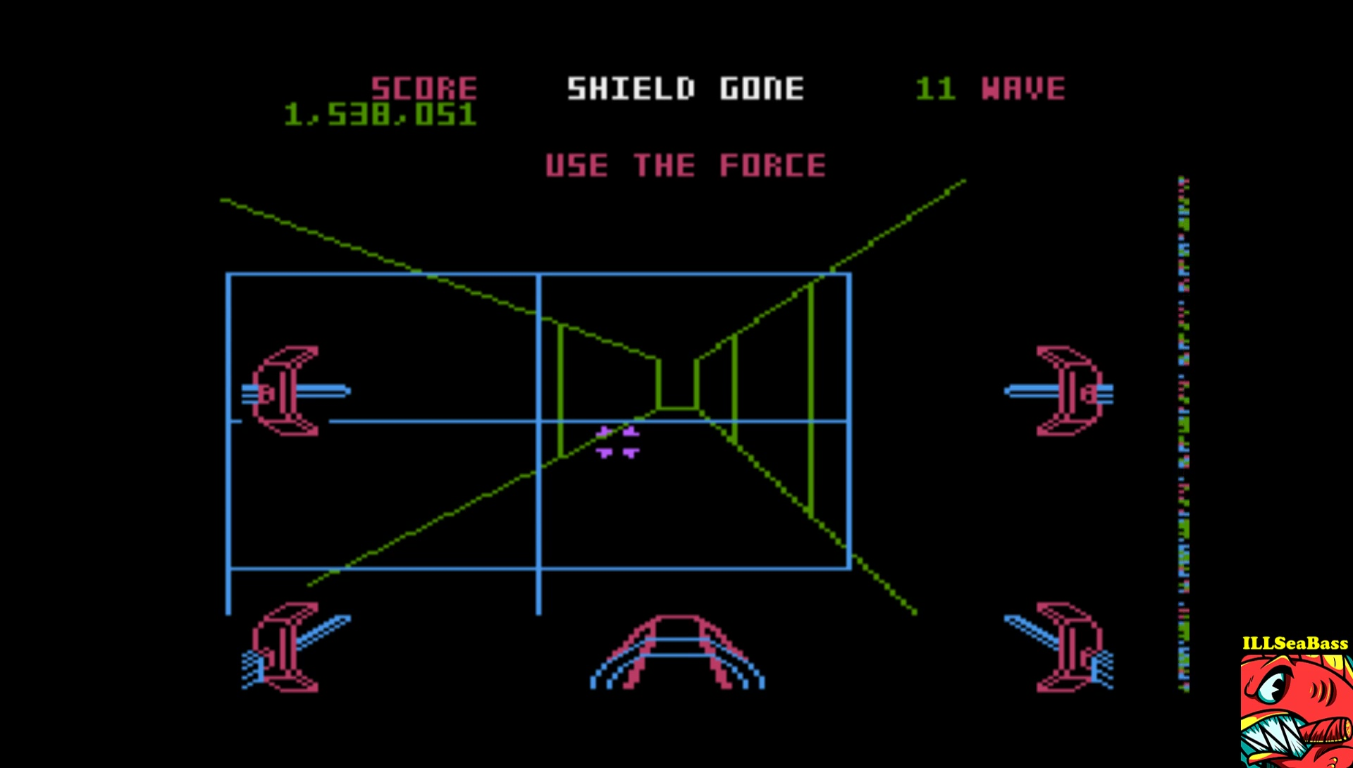 ILLSeaBass: Star Wars: The Arcade Game [Skill 2] (Atari 5200 Emulated) 1,538,051 points on 2017-03-24 22:13:44