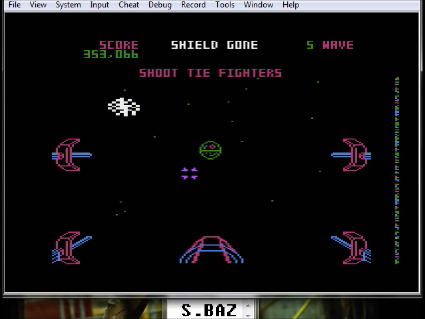 S.BAZ: Star Wars: The Arcade Game [Skill 3] (Atari 5200 Emulated) 353,066 points on 2016-05-29 16:15:06