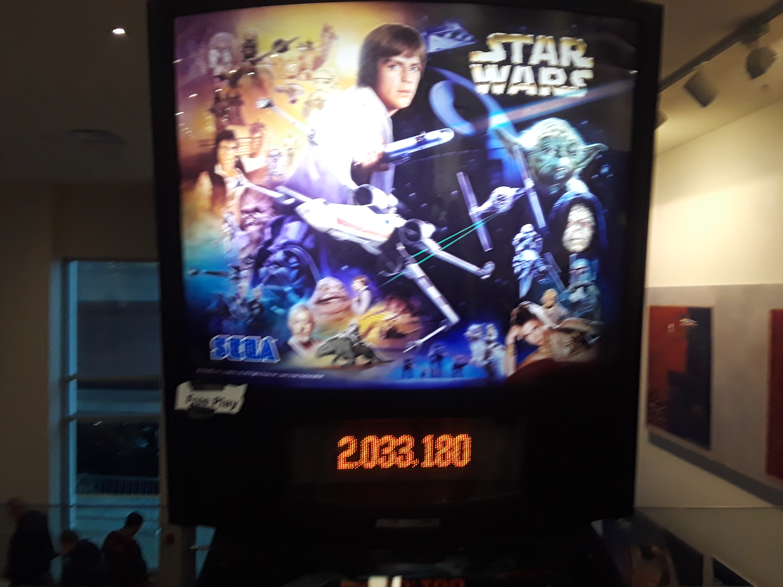 Star Wars Trilogy 2,033,180 points
