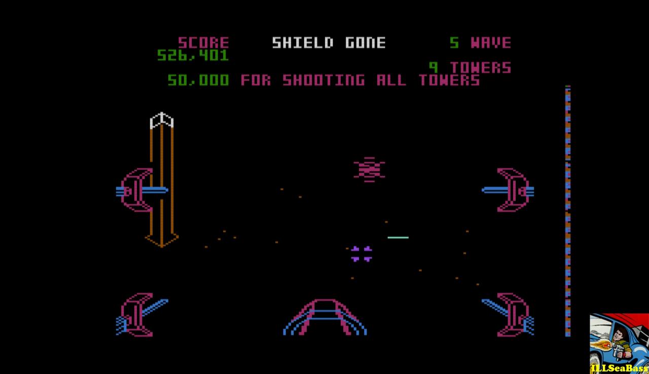 ILLSeaBass: Star Wars:  Wave 2 Start (Atari 400/800/XL/XE Emulated) 526,401 points on 2017-01-01 12:26:49