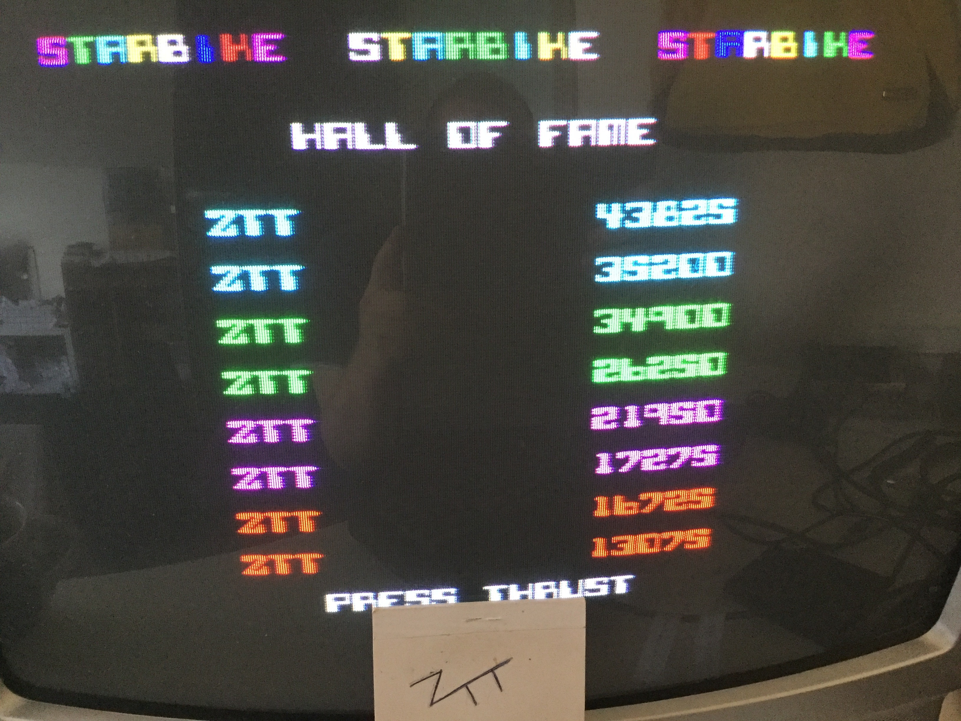 Frankie: Starbike (ZX Spectrum) 43,825 points on 2019-03-01 05:09:10