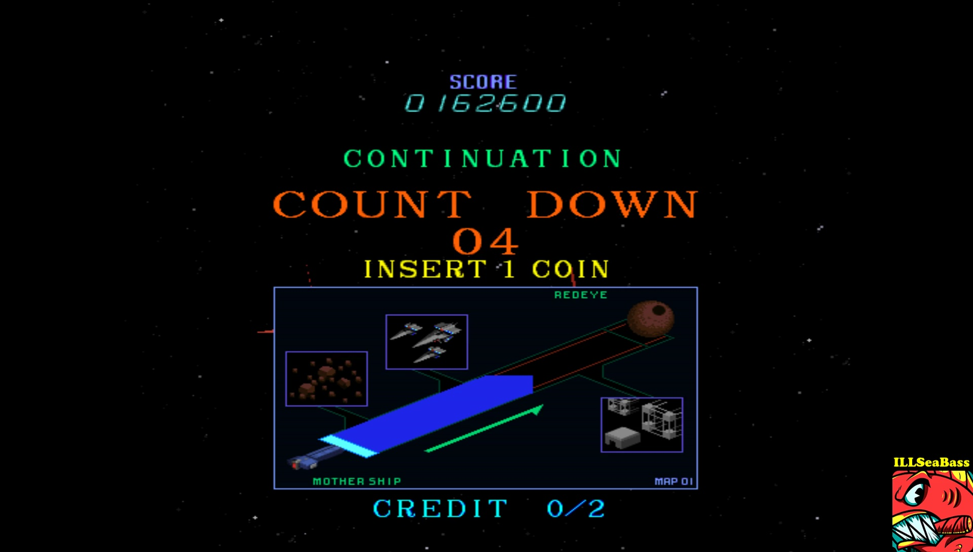 ILLSeaBass: Starblade [starblad] (Arcade Emulated / M.A.M.E.) 162,600 points on 2017-05-28 21:56:21