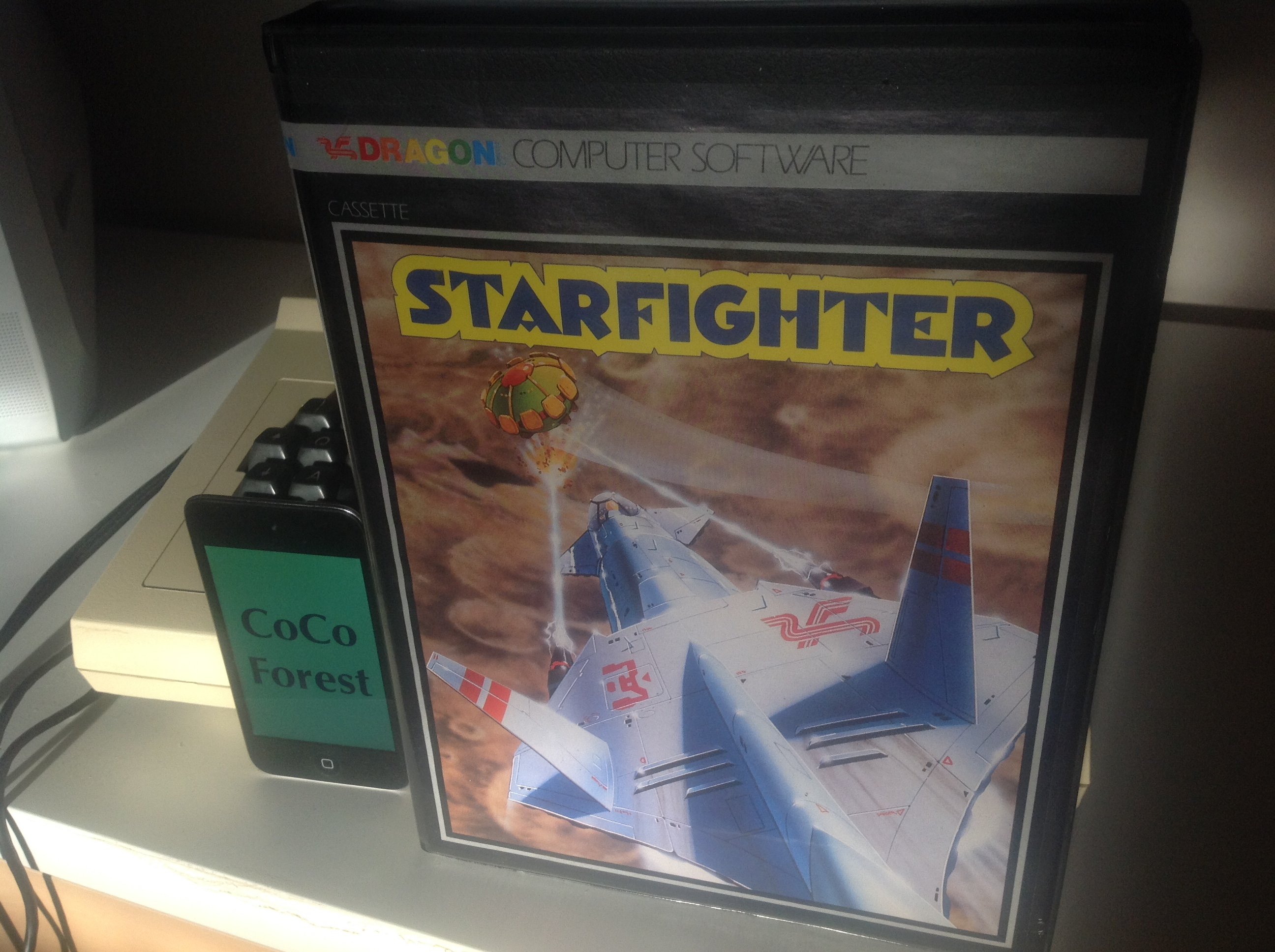 CoCoForest: Starfighter (Dragon 32/64) 1,325 points on 2018-01-06 08:42:36