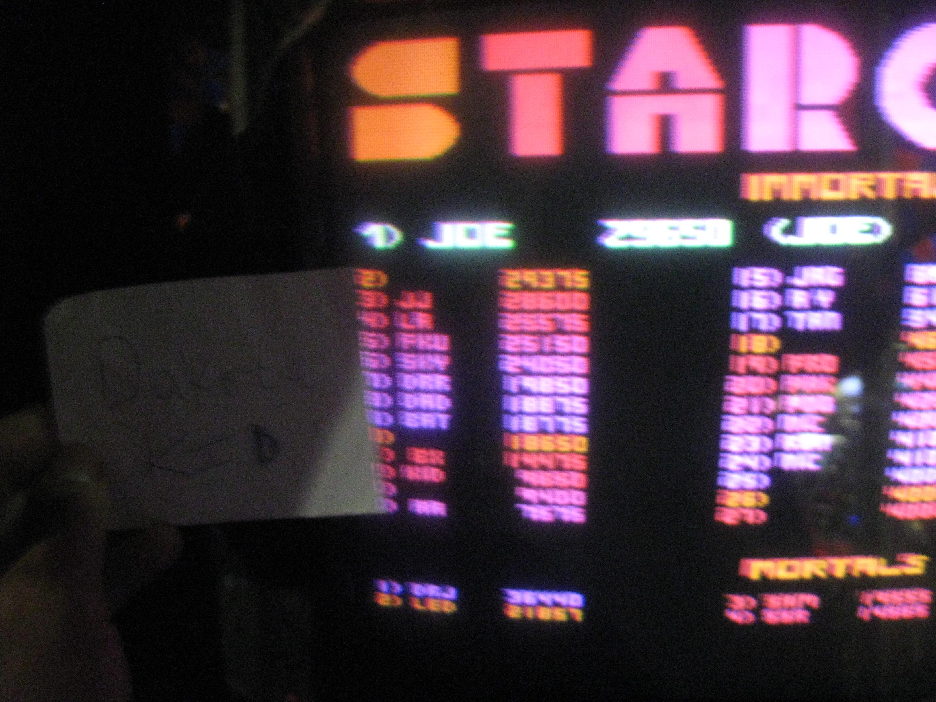 Stargate 9,650 points