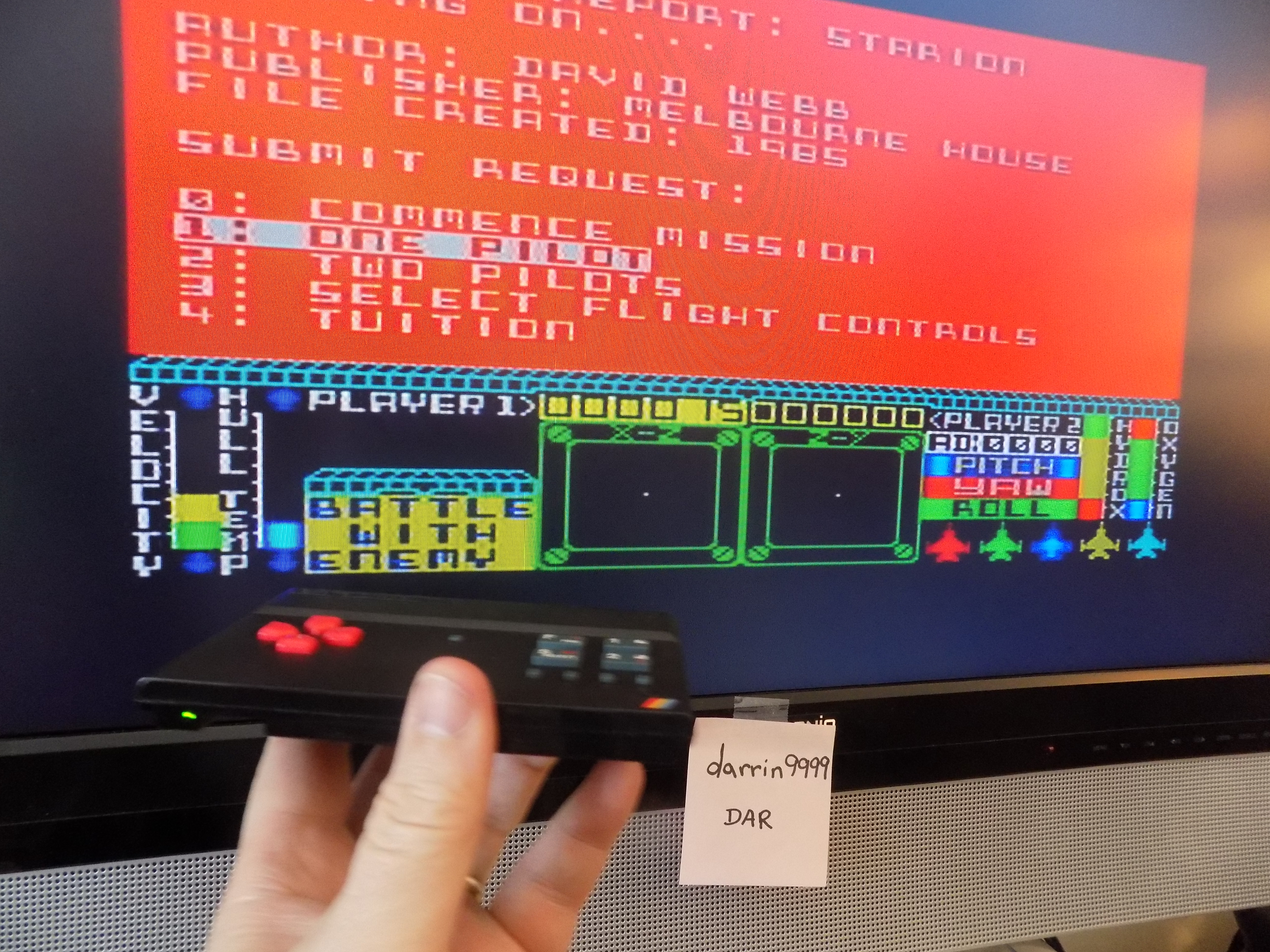 darrin9999: Starion (ZX Spectrum Emulated) 15 points on 2017-02-26 22:31:38