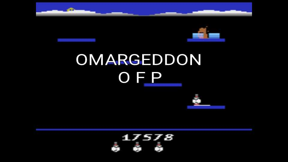 omargeddon: Stay Frosty (Atari 2600 Emulated) 17,578 points on 2016-12-19 21:08:01