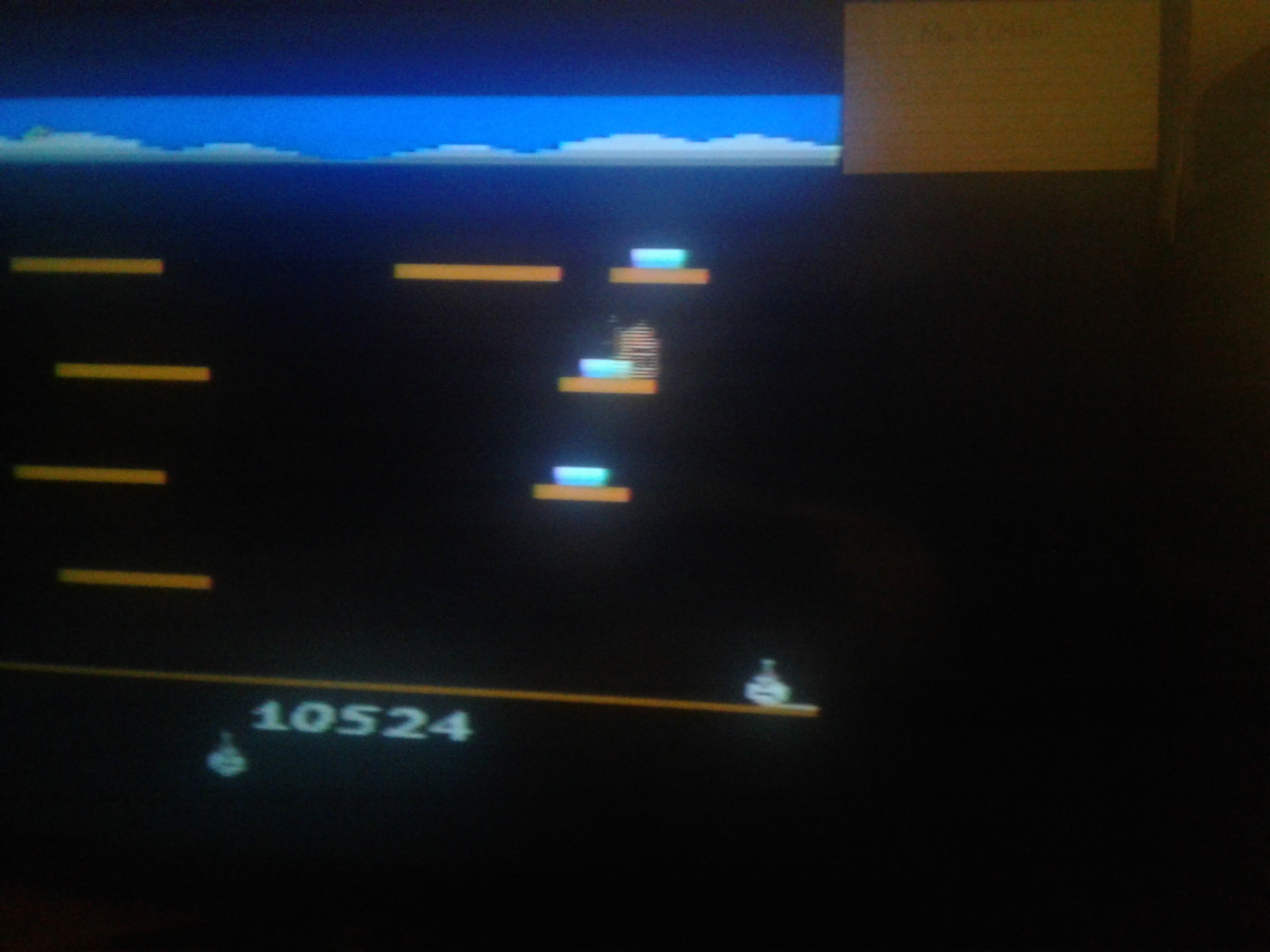 Mark: Stay Frosty (Atari 2600) 10,524 points on 2019-02-08 23:49:01