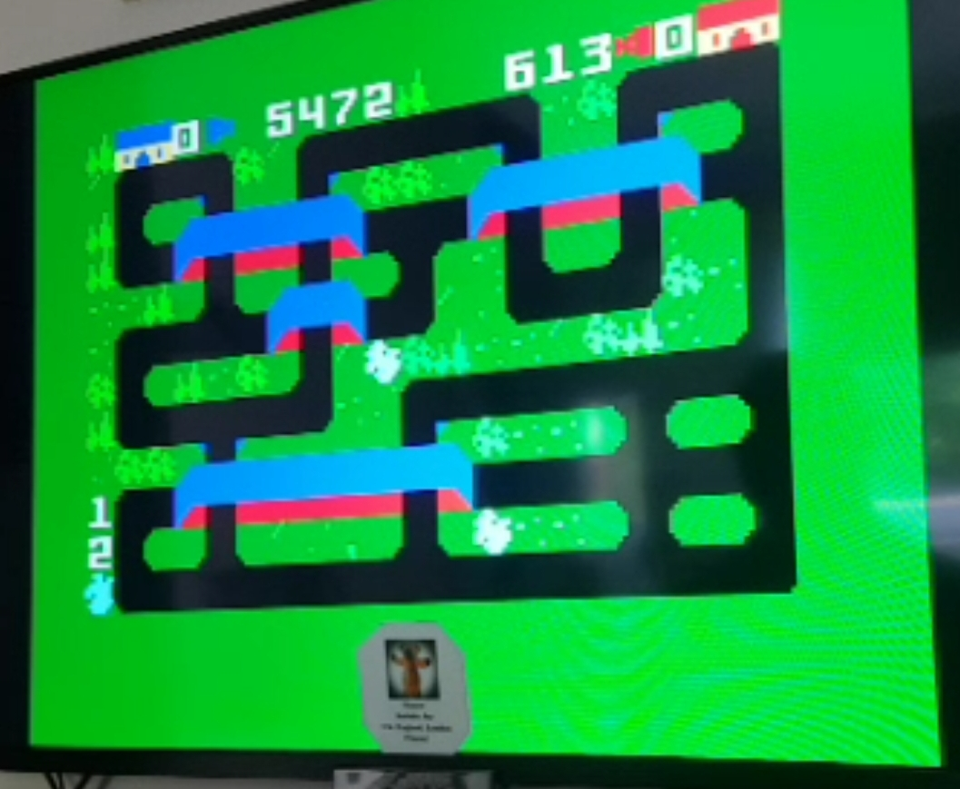 Bamse: Steamroller [Skill 3] (Intellivision) 5,472 points on 2019-05-22 07:19:55