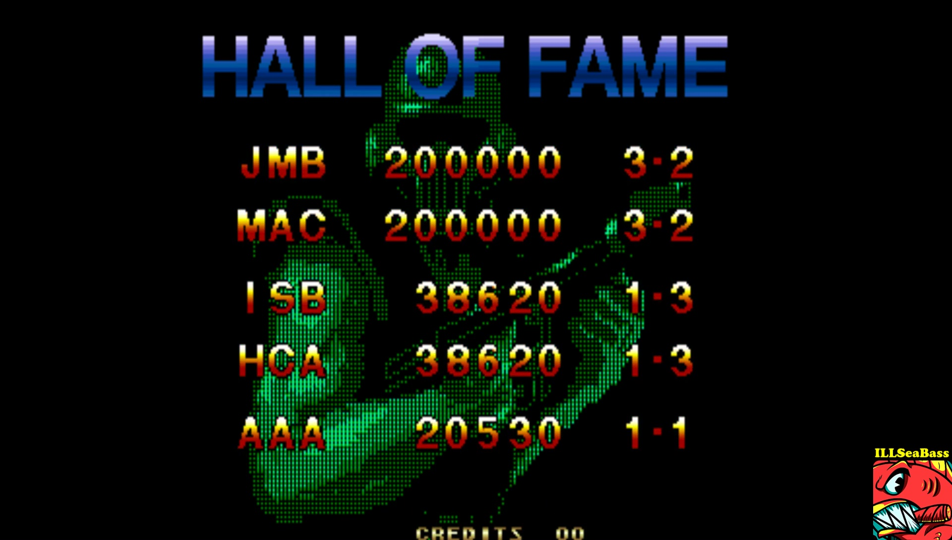 ILLSeaBass: Steel Force (Arcade Emulated / M.A.M.E.) 38,620 points on 2017-06-16 01:18:36