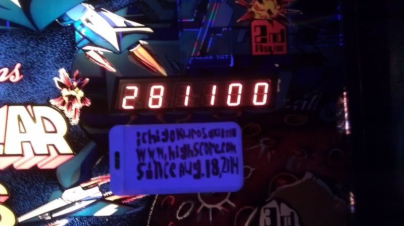 ichigokurosaki1991: Stellar Wars (Pinball: 3 Balls) 281,100 points on 2016-04-05 01:04:31