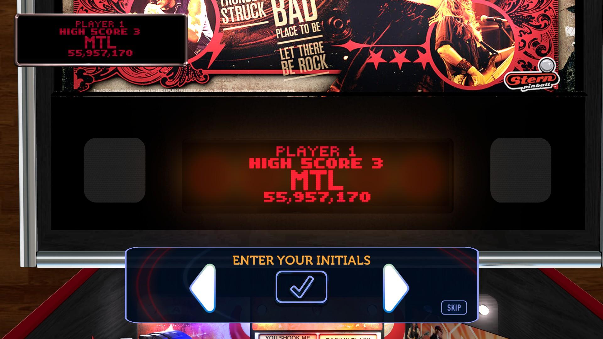 Mantalow: Stern Pinball Arcade: AC/DC (PC) 55,957,170 points on 2017-01-02 11:22:38