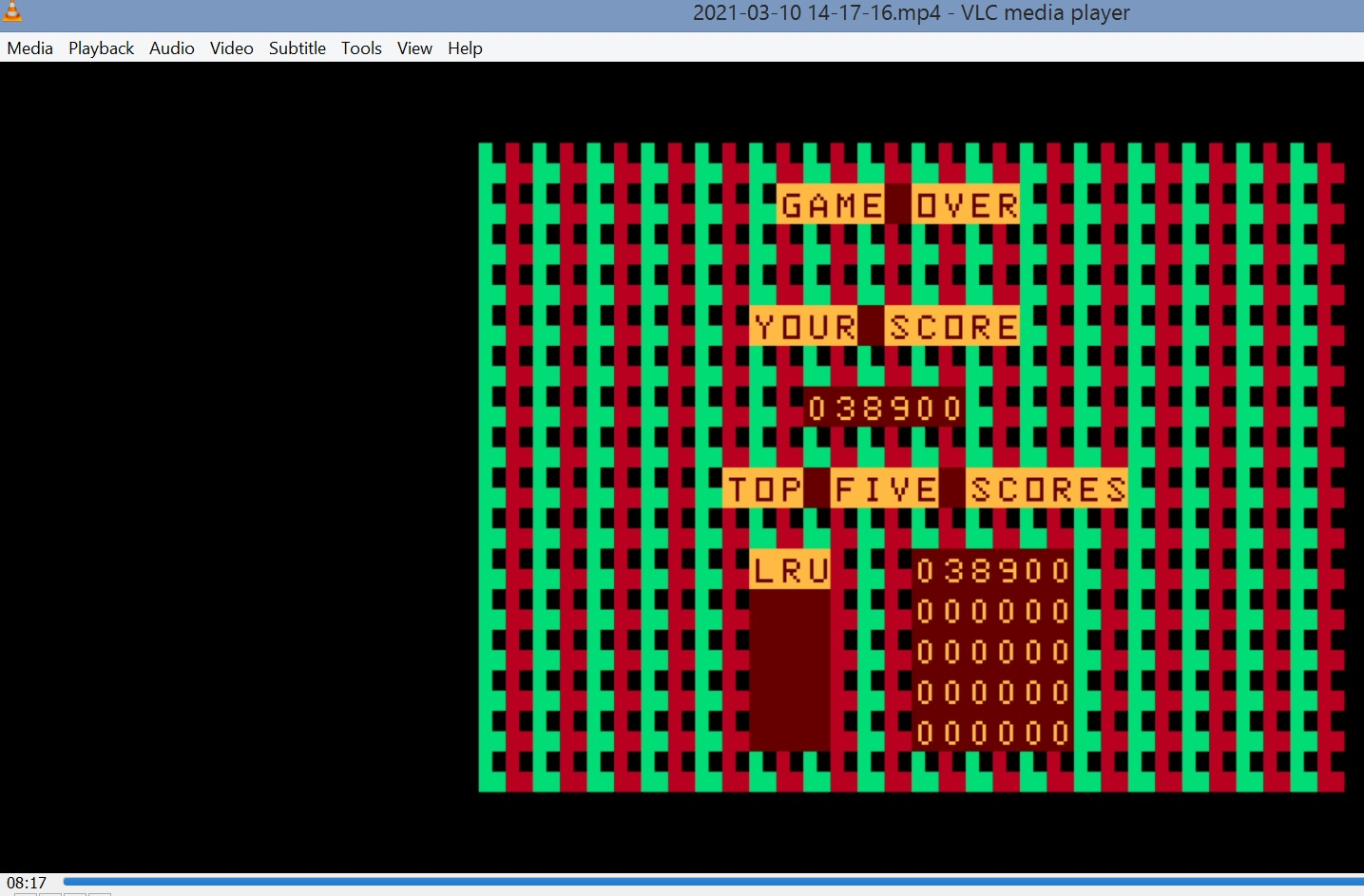 LuigiRuffolo: Storm Arrows (Dragon 32/64 Emulated) 38,900 points on 2021-03-10 07:34:54