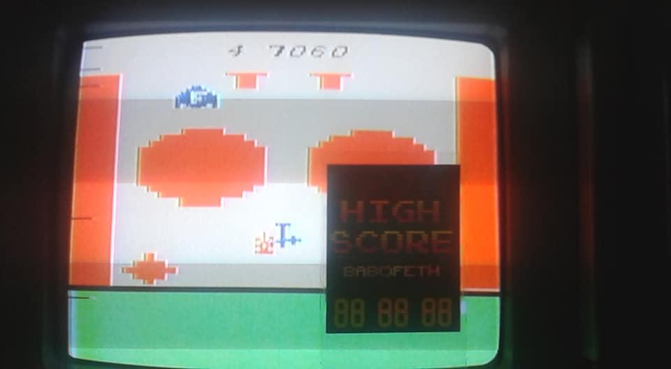 BabofetH: Strategy X (Atari 2600 Novice/B) 7,060 points on 2020-07-18 17:37:17