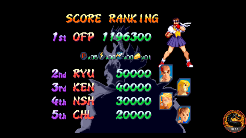 omargeddon: Street Fighter Alpha 2 (Arcade Emulated / M.A.M.E.) 1,196,300 points on 2018-10-16 16:49:35
