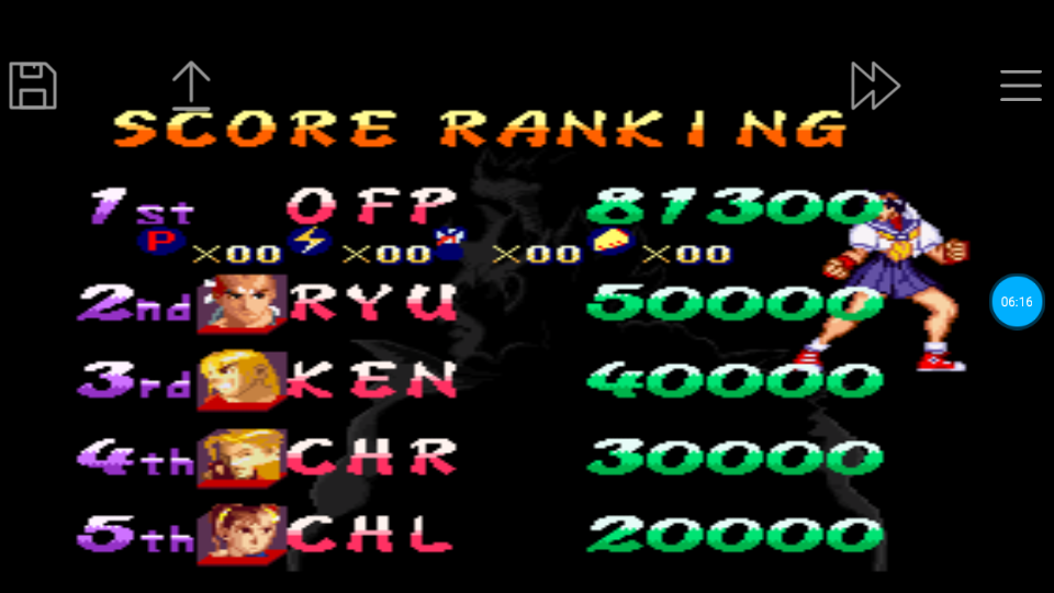 omargeddon: Street Fighter Alpha 2 [Difficulty 2] (SNES/Super Famicom Emulated) 81,300 points on 2018-06-25 13:48:10