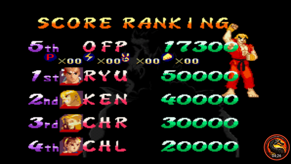 omargeddon: Street Fighter Alpha 2 [Difficulty 8] (SNES/Super Famicom Emulated) 17,300 points on 2020-05-15 17:30:49