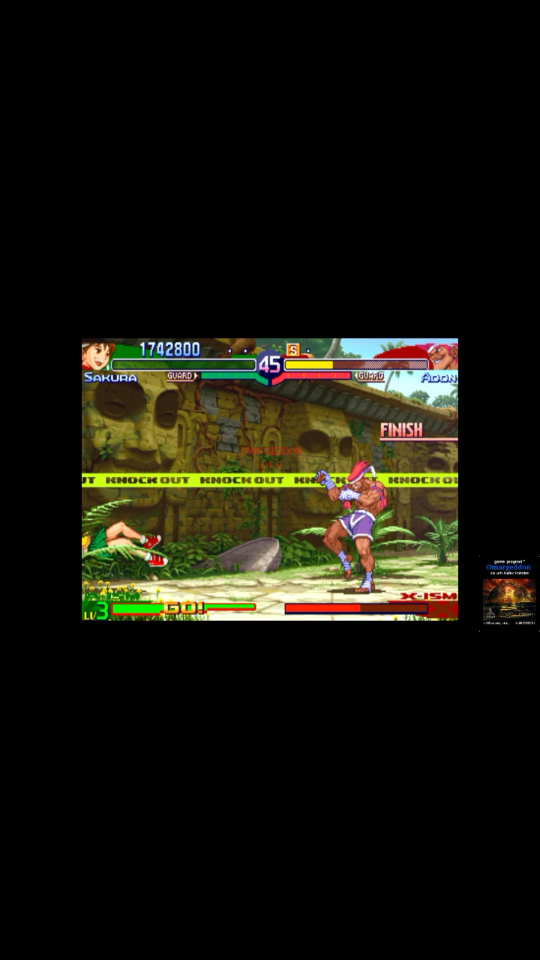 Street Fighter Alpha 3 [sfa3] 1,742,800 points