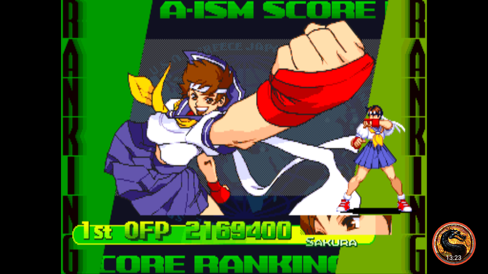 Street Fighter Alpha 3 [sfa3] 2,169,400 points
