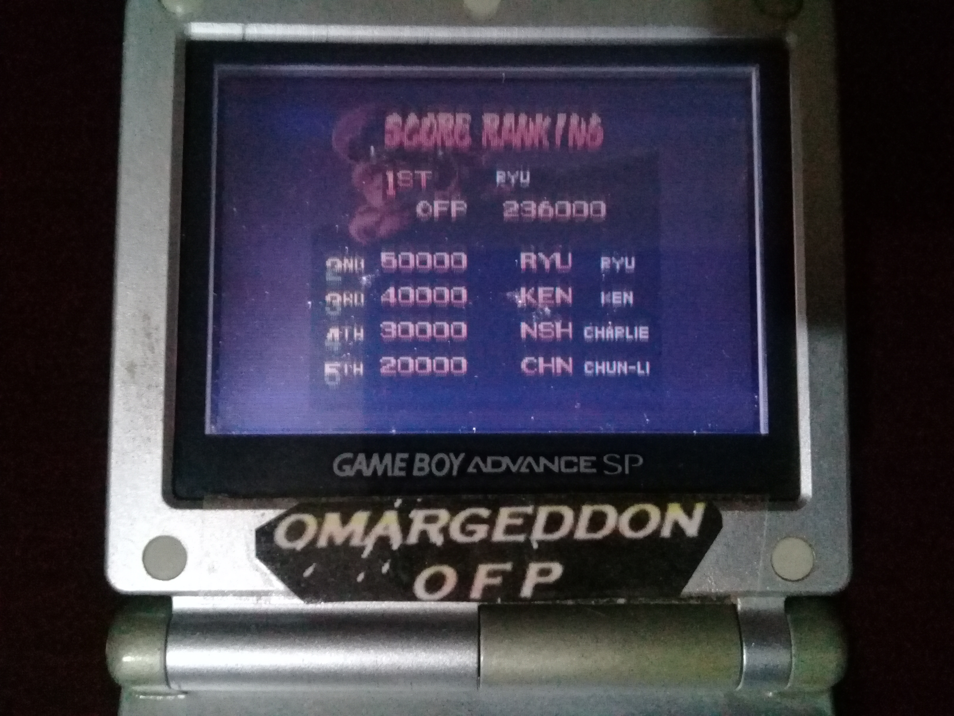 omargeddon: Street Fighter Alpha [a.k.a. Street Fighter Zero] (Game Boy Color) 236,000 points on 2020-07-19 10:45:11