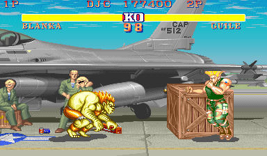 Street Fighter II 177,400 points