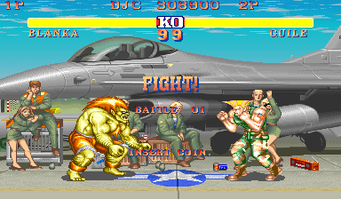 Street Fighter II 308,900 points