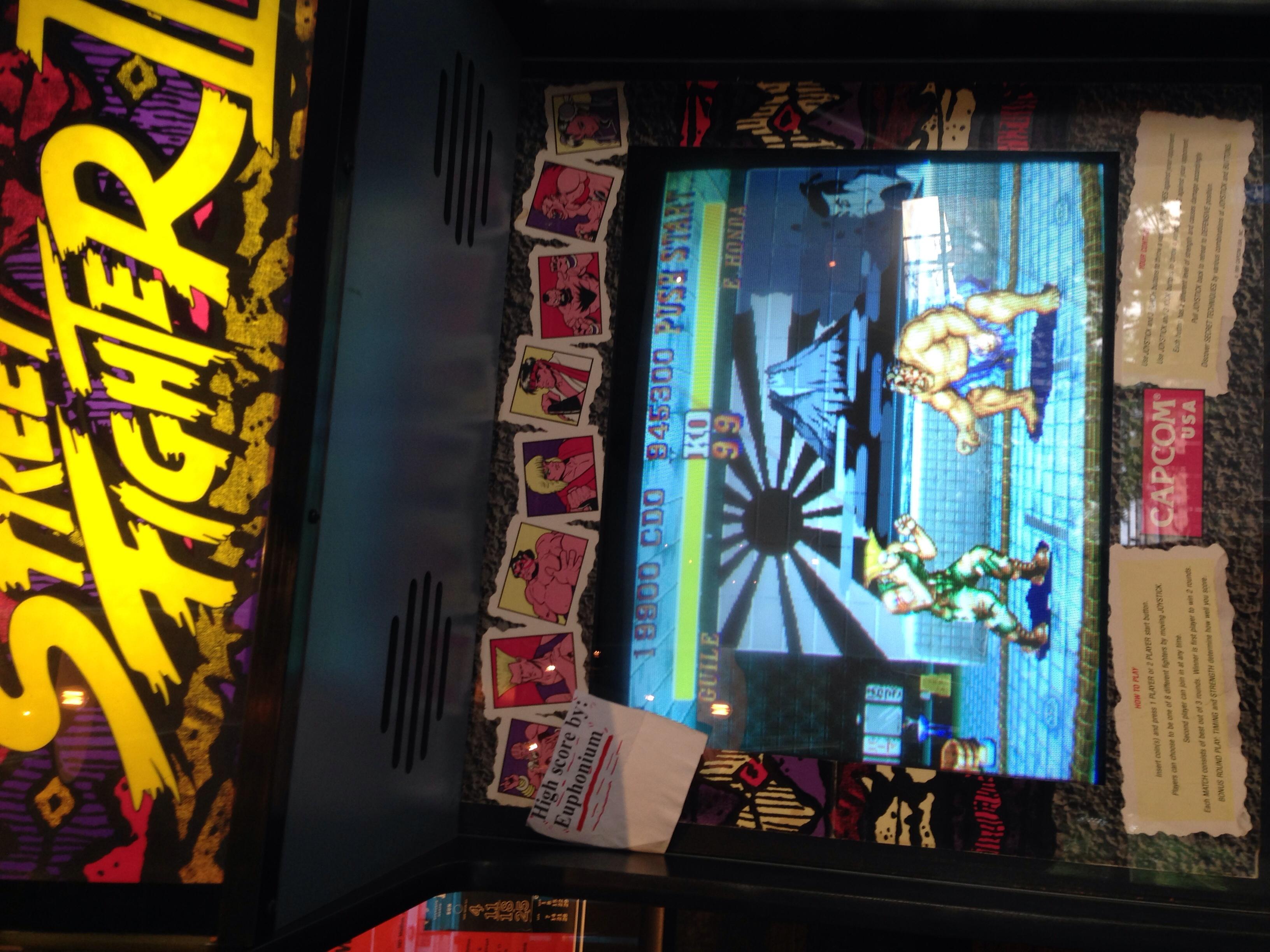 euphonium: Street Fighter II (Arcade) 19,900 points on 2016-06-22 00:48:34