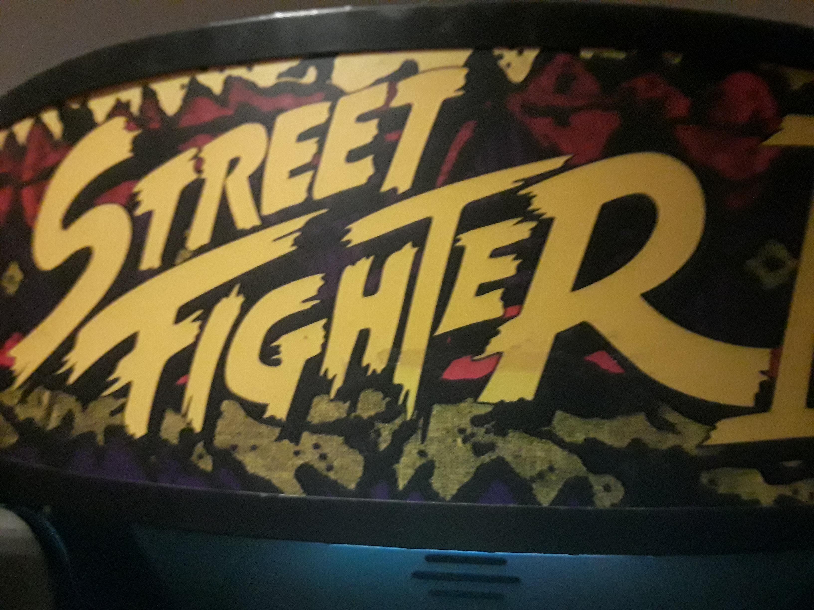 Street Fighter II 9,500 points